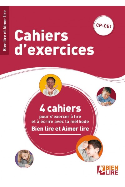Cahiers d'exercices Bien lire et Aimer lire